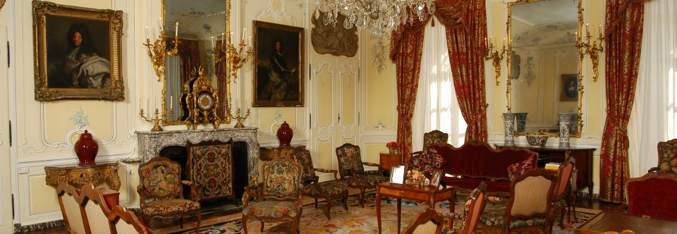 Les intérieurs du Château